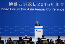 Выступление Президента Сержа Саргсяна на международном экономическом форуме Боао