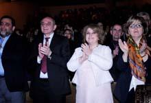 Ռիտա Սարգսյանը ներկա է գտնվել Մարինե Ալեսի նախաձեռնությամբ անցկացված բարեգործական համերգին