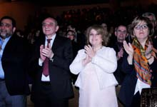 Рита Саргсян присутствовала на благотворительном концерте, проведенном по инициативе Марине Алес