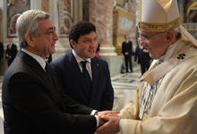 Визит Президента Сержа Саргсяна в Ватикан