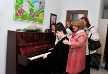 Rita Sargsyan attended the opening of a new building of the My Path Training and Rehabilitation Center