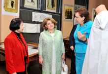 """Rita Sargsyan attends presentation of book """"Embroidery in Aintab"""""""