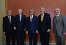 Рабочий визит Президента Сержа Саргсяна в Соединенные Штаты
