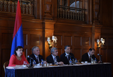 Armenian President Serzh Sargsyan's welcoming remarks at the meeting with the Armenian community of Washington