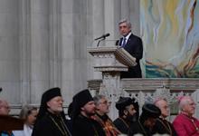 Выступление Президента РА Сержа Саргсяна в Кафедральном соборе Вашингтона