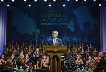RA President Serzh Sargsyan's address at the concert devoted to May victories