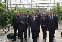 President Serzh Sargsyan's visit to Kotayk marz