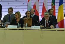 Выступление Президента Сержа Саргсяна на четвертом саммите Восточного партнерства