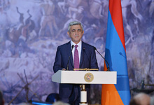 Congratulatory address by President Serzh Sargsyan on Republic Day
