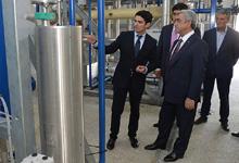 President Serzh Sargsyan's working visit to Kotayk and Gegharkunik Marzes