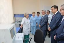Рабочий визит Президента Сержа Саргсяна в Тавушскую область