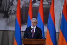 Address by President Serzh Sargsyan the Opening of the 12th Meeting of the International Association of Genocide Scholars