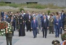 President Serzh Sargsyan pays working visit to Artsakh
