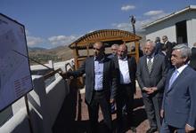 Президент Серж Саргсян посетил Котайкскую область