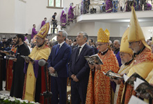 President Serzh Sargsyan's visit to Shirak marz