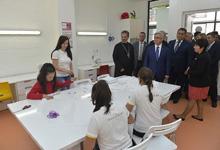 Президент Серж Саргсян посетил Тавушскую область