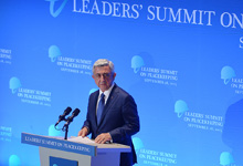 Выступление Президента Сержа Саргсяна на саммите, посвященном миротворчеству ООН