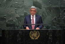 Statement by the President of the Republic of Armenia Serzh Sargsyan at the 70th Session of the UN General Assembly