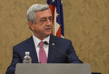 Remarks by the President of the Republic of Armenia Serzh Sargsyan at the Congressional Luncheon