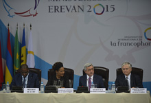 Address by President Serzh Sargsyan at the 31st Ministerial Conference of the Francophonie