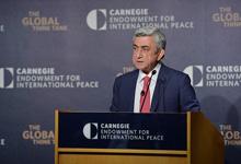 Речь Президента Сержа Саргсяна в фонде Карнеги перед представителями экспертного сообщества США
