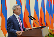 Remarks by President Serzh Sargsyan at the Ceremony of the Annual Presidential Education Awards in the Sphere of Information Technology