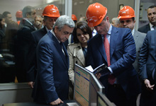 President Serzh Sargsyan's visit to Syunik marz