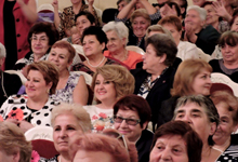 Rita Sargsyan partakes in concert devoted to International Day of Older Persons