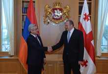 Working visit of President Serzh Sargsyan to Georgia