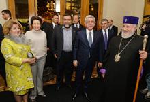 Рита Саргсян в Тбилиси присутствовала на концерте под названием «Один из вас…»