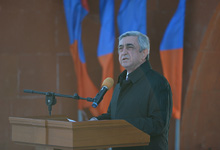 Remarks by RA President Serzh Sargsyan on the Paris Attacks