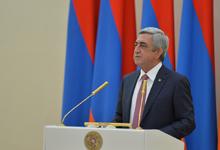 Речь Президента РА Сержа Саргсяна на церемонии вручения Премии Президента РА за вклад мирового значения в сферу информационных технологий