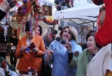 Рита Саргсян присутствовала на открытии новогодней ярмарки магазином-салоном «Галери Роял» и благотворительным фондом «Подари жизнь»