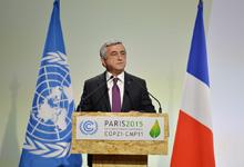 Рабочий визит Президента Сержа Саргсяна во Францию