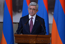 RA President Serzh Sargsyan's Address on the International Day of Commemoration and Dignity of the Victims of the Crime of Genocide and of the Prevention of this Crime