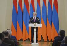 Речь Президента РА Сержа Саргсяна после референдума по изменениям в Конституцию РА