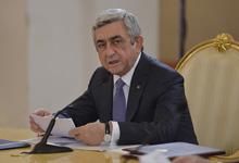 Выступление Президента Сержа Саргсяна на встрече с представителями СМИ по итогам сессии Совета коллективной безопасности ОДКБ