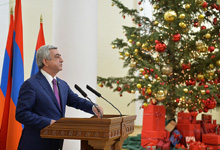 Remarks by President Serzh Sargsyan at the New Year reception for the representatives of the business community