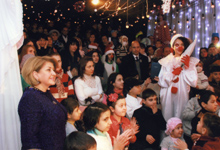ՀՀ առաջին տիկին Ռիտա Սարգսյանը մասնակցել է «Նվիրիր կյանք» հիմնադրամի երեխաների համար կազմակերպված տոնական միջոցառմանը