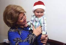 Первая леди Армении Рита Саргсян посетила семью погибшего на границе военнослужащего Азата Асояна