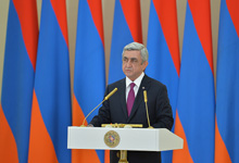 Congratulatory remarks by President Serzh Sargsyan on the occasion of Army Day