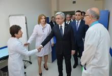 Working visit of President Serzh Sargsyan to Syunik marz