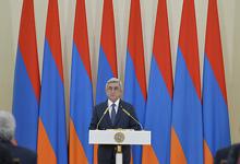 Речь Президента РА Сержа Саргсяна по вопросам реализации внесенных в Конституцию изменений