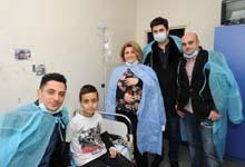 Первая леди Армении Рита Саргсян посетила Центр переливания крови имени Р.О. Ёляна
