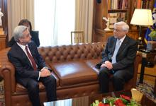 Официальный визит Президента Сержа Саргсяна в Греческую Республику