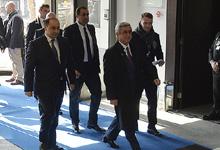 Рабочий визит Президента Сержа Саргсяна в Брюссель