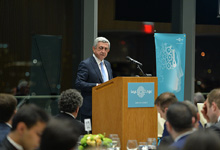 President of the Republic of Armenia Serzh Sargsyan Speech at the Massachusetts Institute of Technology: Education and Human Capital: The path to sustainable development