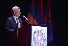 ՀՀ Նախագահ Սերժ Սարգսյանի ելույթը ԱՄՆ Արևելյան ափի հայ համայնքի ներկայացուցիչների հետ հանդիպմանը