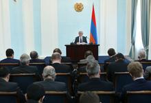 Вступительное слово Президента Республики Армения Сержа Саргсяна на встрече с послами государств-участников ОБСЕ