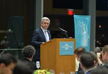 Речь Президента Сержа Саргсяна в Массачусетском технологическом институте на тему  «Образование и человеческий капитал - путь стабильного развития